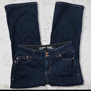 Lane Bryant Tighter Tummy Straight Jeans SZ 14 P